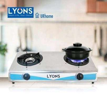 Lyons Electric 2 burner gas stove image 1