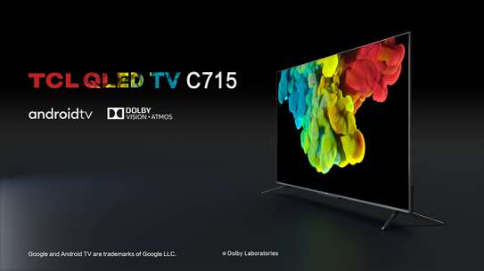 TCL 55'' 55C715 Smart 4K QLED Android TV image 1