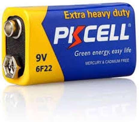 PKCELL 9V 6F22 Dry Battery, 9V Carbon Zinc Batteries for Smoke Detectors.(1 piece) image 1