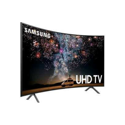 Samsung 49 curved smart 4k ultra hd tv image 1
