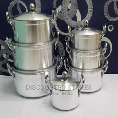 Stainless Cooking Pots image 1