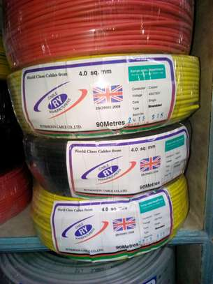4.0 mm Single core Electrical cables
