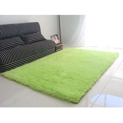 4 by 6ft Fluffy- Green
