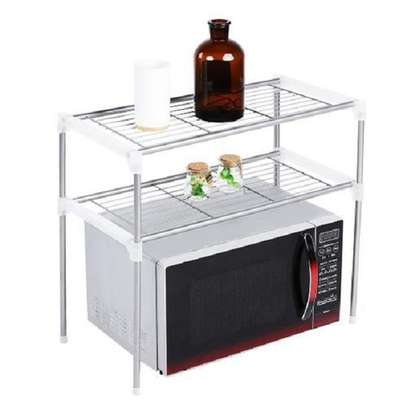 2 Tier Microwave Stand image 1