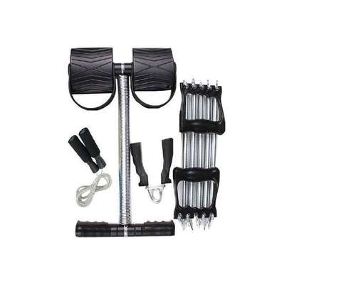 Tummy Trimmer Plus FREE Skipping Rope, Hand Grip and Chest Pull