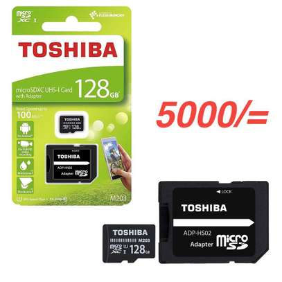 Toshiba 128GB MicroSD Card with Adapter