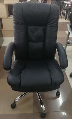 OFFICE EXECUTIVE LEATHER CHAIR image 1