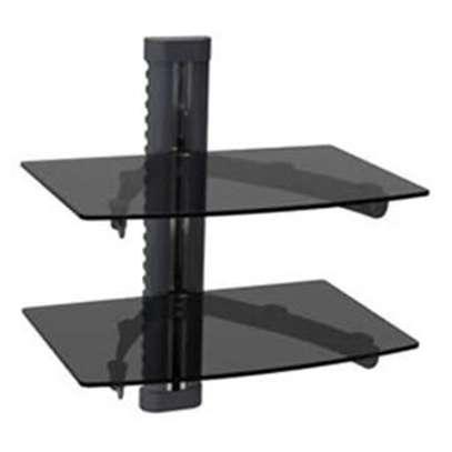 Double shelf DVD wall mounts image 1