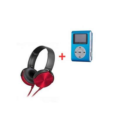 Headphone Central Extra Bass Music Headphones With Mp3 Player image 1