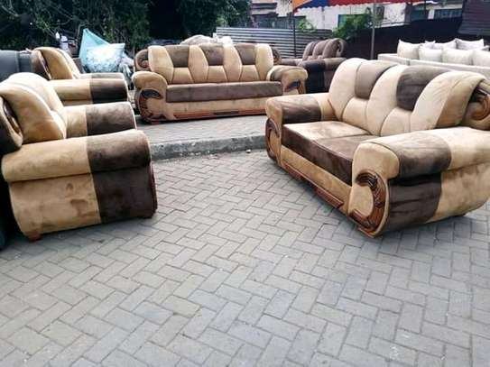 Beautiful Modern Quality 7 Seater Sofa image 1