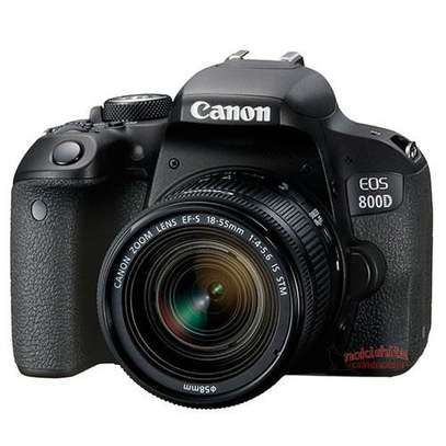 Canon EOS 800D DSLR Camera with 18-55mm Lens image 1