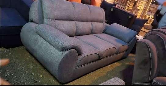 One 3 Seater grey sofa image 1