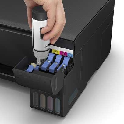 Epson L3111 Eco Tank Color & B/W Printer Scanner Copy+ Ink Bottles image 2