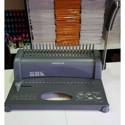 A4 Comb Binder Spiral Binding Machine Innovia image 1