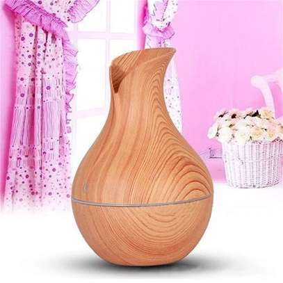 Ultrasonic Humidifier Aromatherapy Oil Diffuser Cool Mist With Color Light. image 2