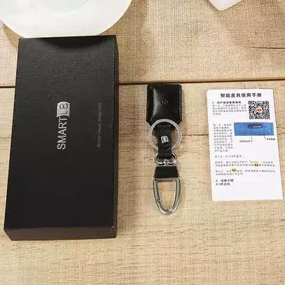 Smart Bluetooth Leather Key Holder image 5