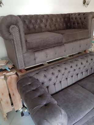 Chesterfield sofa 6seater brand new image 3