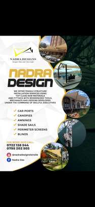 Designs and installation of shades sails canopies car shades etc image 5