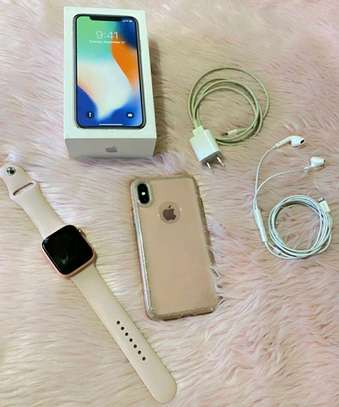 Apple Iphone X  ~ 256gb Gigabytes  Silver image 1