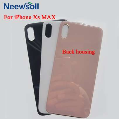 Battery Cover Replacement Back Door Housing Case For iPhone Xs Max image 1
