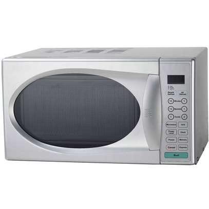 RAMTONS 20 LITERS MICROWAVE+GRILL SILVER- RM/240 image 1