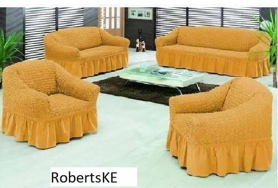 Yellow sofa covers image 1