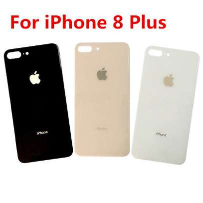 Battery Cover Replacement Back Door Housing Case For iPhone 8 8 Plus image 5