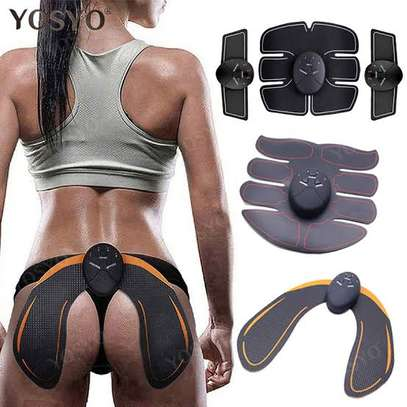 4 in 1 EMS abs stimulator with butt stimulator image 1