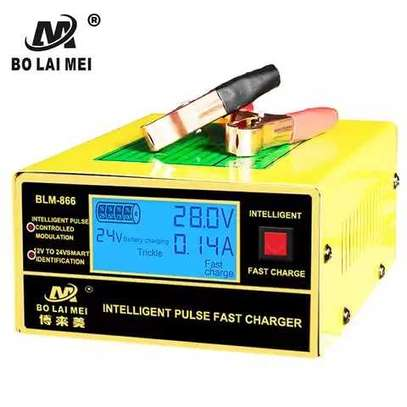 12/24V 200AH Lead Acid Battery Charger image 1