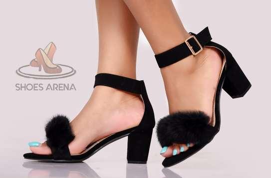 Suede Chunky heels image 1