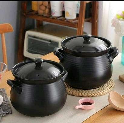 Ceramic cooking pots image 1
