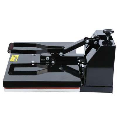1600W Clamshell Heat Press Transfer T-Shirt Sublimation Machine Ridgeyard image 4