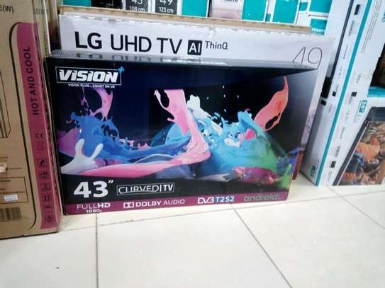 VISION 43 CURVED ANDROID TV image 1