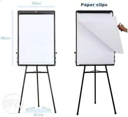 lOCAL FLIP CHART STAND WITH CASTOR ROLLS image 1