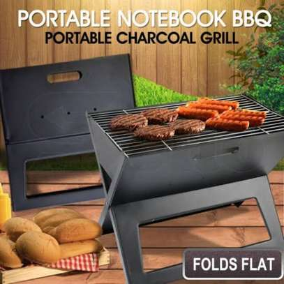 portable foldable charcoal grill image 4