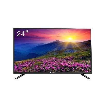 Amtec 24L12- 24 inch Digital LED TV Ac/Dc - Black image 1