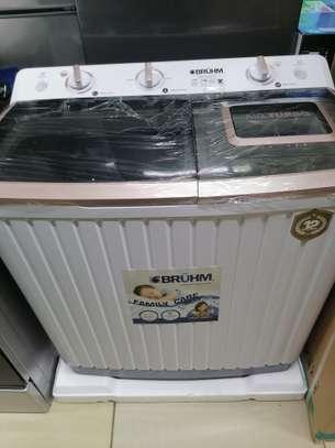 Bruhm BWT-110H 11kg semi automatic washing machine image 1