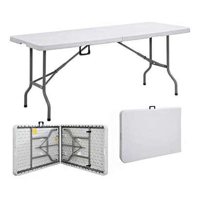 White foldable table image 1