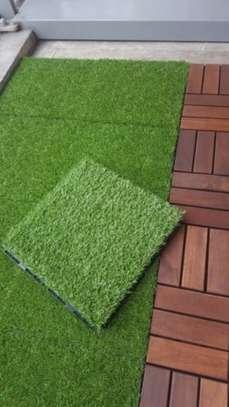 Artificial grass landscape synthetic grass carpet image 8