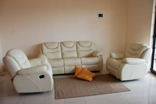 PURE Leather Recliner sofas image 1