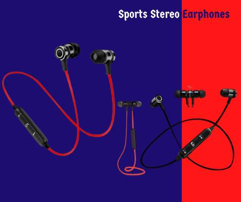 Sports Stereo Earphones image 1