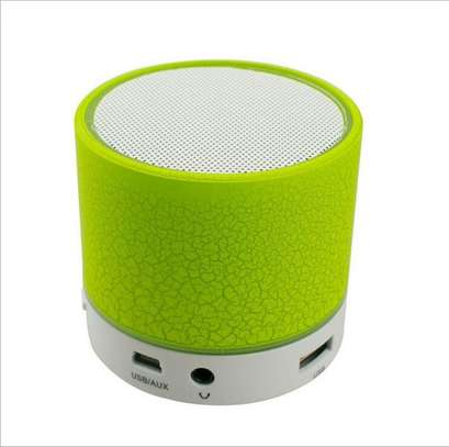 Generic A9 LED Bluetooth Speaker Mini Speakers Hands Free Portable Wireless Speaker With TF Card Mic USB Audio Music Player