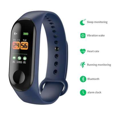 Fitness Tracker Bracelet Smartwatch Wrist Band Smart-watch image 1