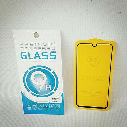 5D HD Clear Tempered Glass Front Screen Protector for Samsung A10 A20 A30 A40 image 3