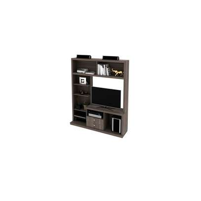 "Tecno Mobili ENTERTAINMENT WALL UNIT For Up To 50"" TV - OAK image 4"