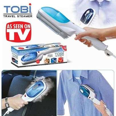 Tobi Portable, Travel, Hand Held Quality Garment, Clothes Steamer image 1