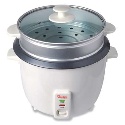 RAMTONS RICE COOKER+STEAMER 1.8 LITERS WHITE- RM/289 image 1