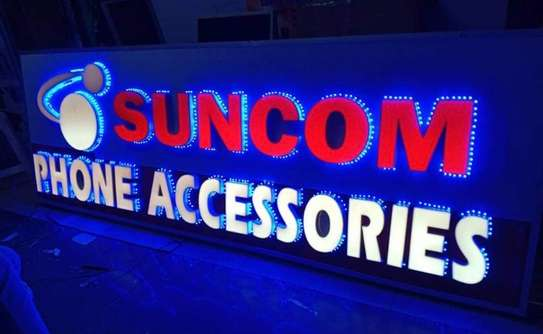 We do quality 3D signage, Light box signage, corporate logos.. contact us for pricing image 11