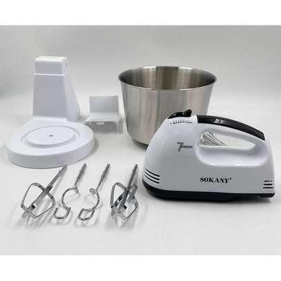 Sokany Hand Mixer With Bowl image 1