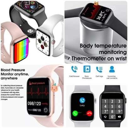 Smart Watch Year 2021 W26 Plus Series 6 1.75 Inch Screen ECG image 1